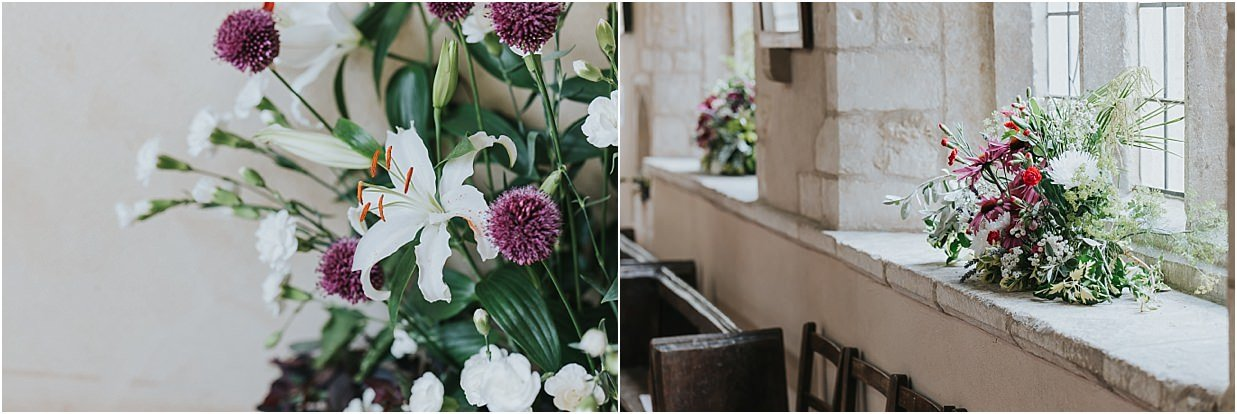 Rutland and Lincolnshire photography beautiful flowers in the church