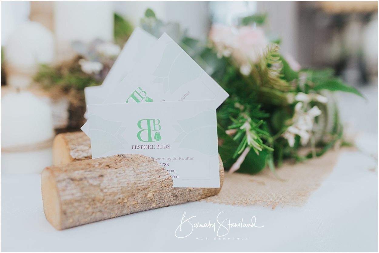 Rutland Wedding Photography Bespoke Buds business cards