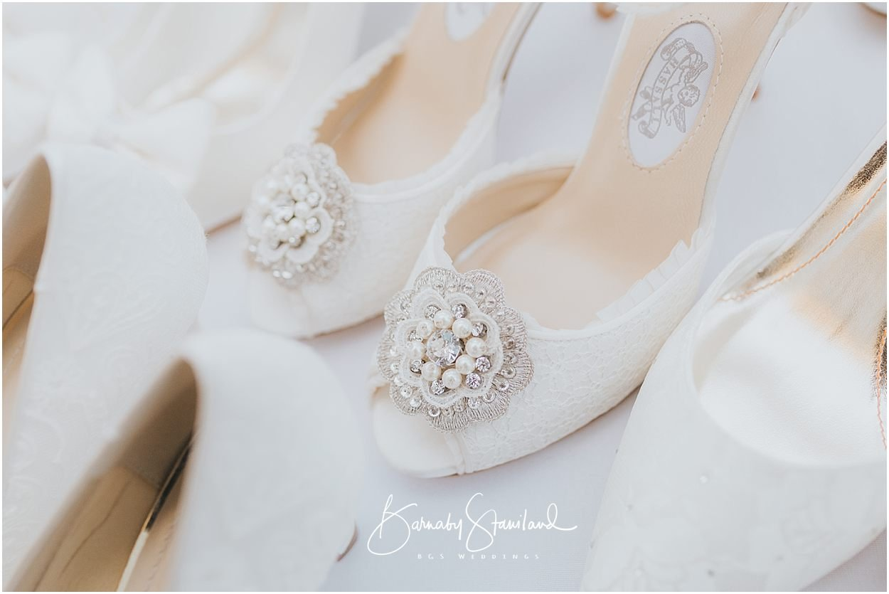Rutland Wedding Photography wedding shoe details