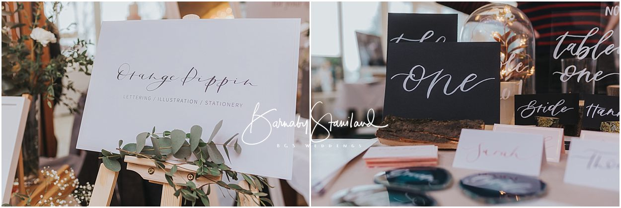 Rutland Wedding Photography examples of calligraphy wedding invites