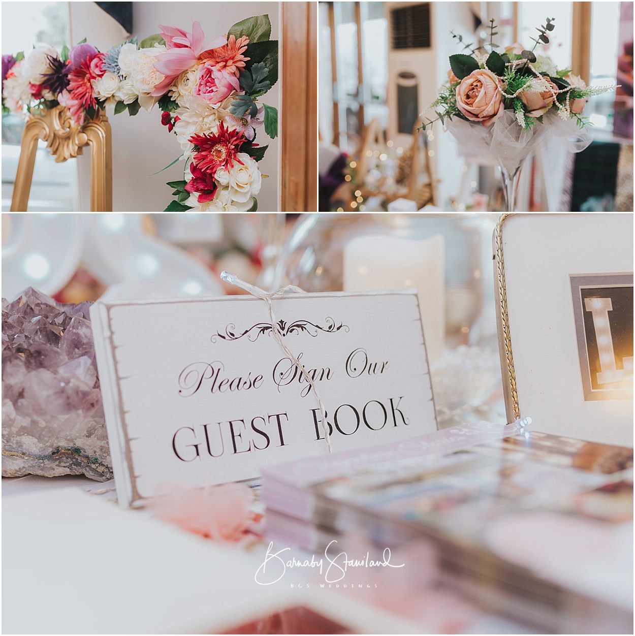 Rutland Wedding Photography wedding sign saying 'please sign our guestbook'