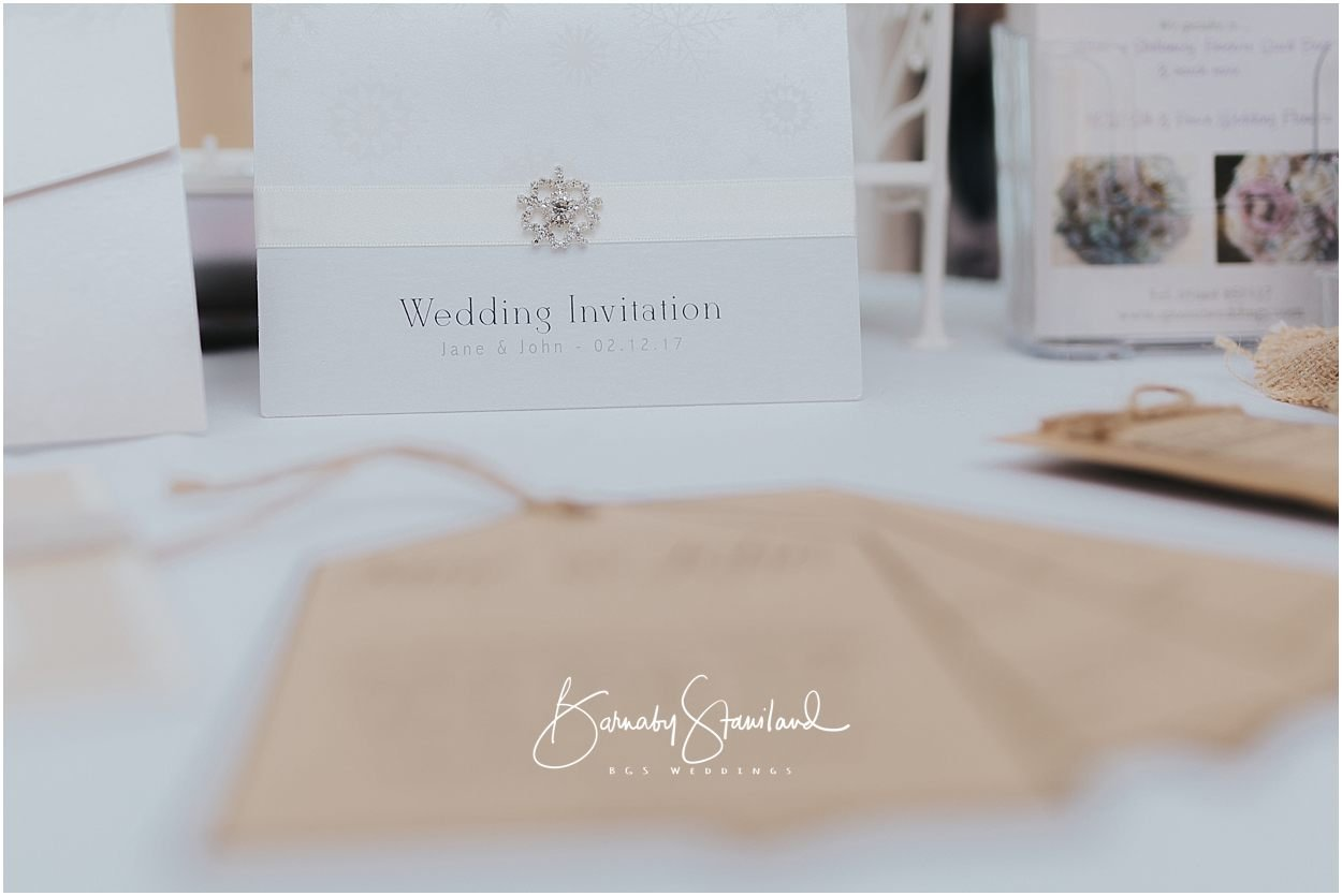 Rutland Wedding Photography wedding invitation