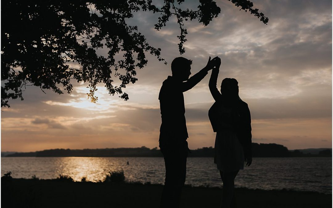 Katy and Sam // Rutland Water Engagement