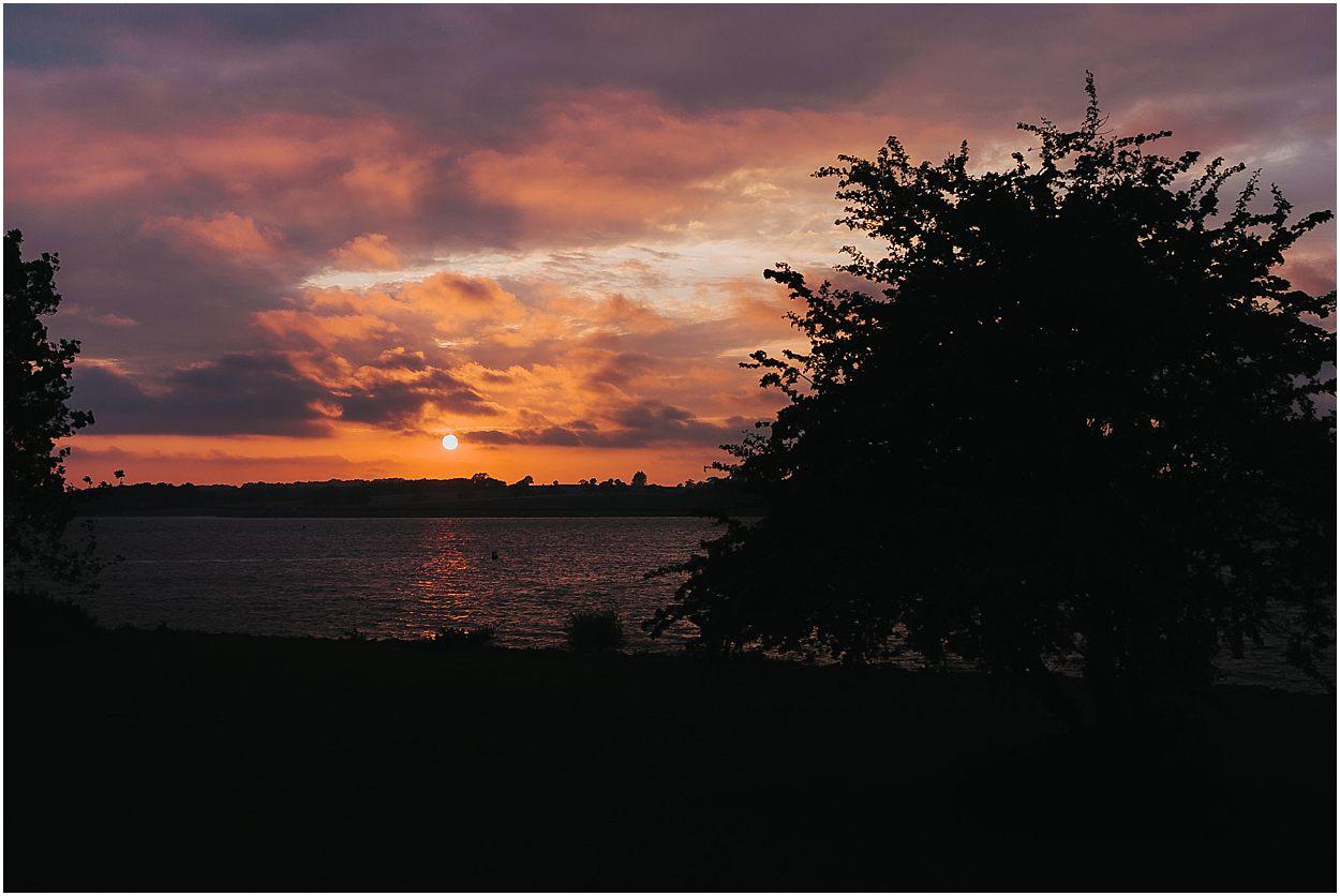 Rutland water engagement photography sunset at Rutland Water