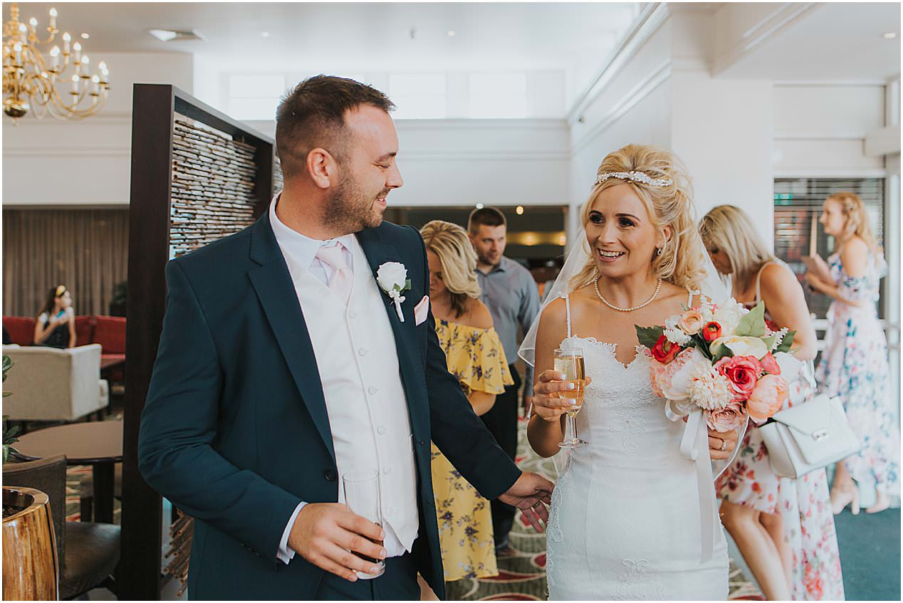 Leicestershire Wedding Photographer Hilton Weddings Leicestershire Wedding 1066 - Mr and Mrs Haynes // LEICESTER WEDDING