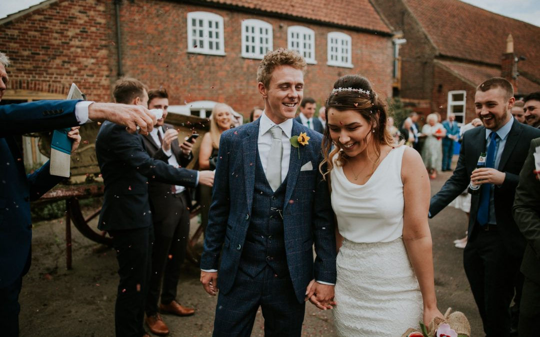 Abbey & Simon  |  The Granary Wedding Barn
