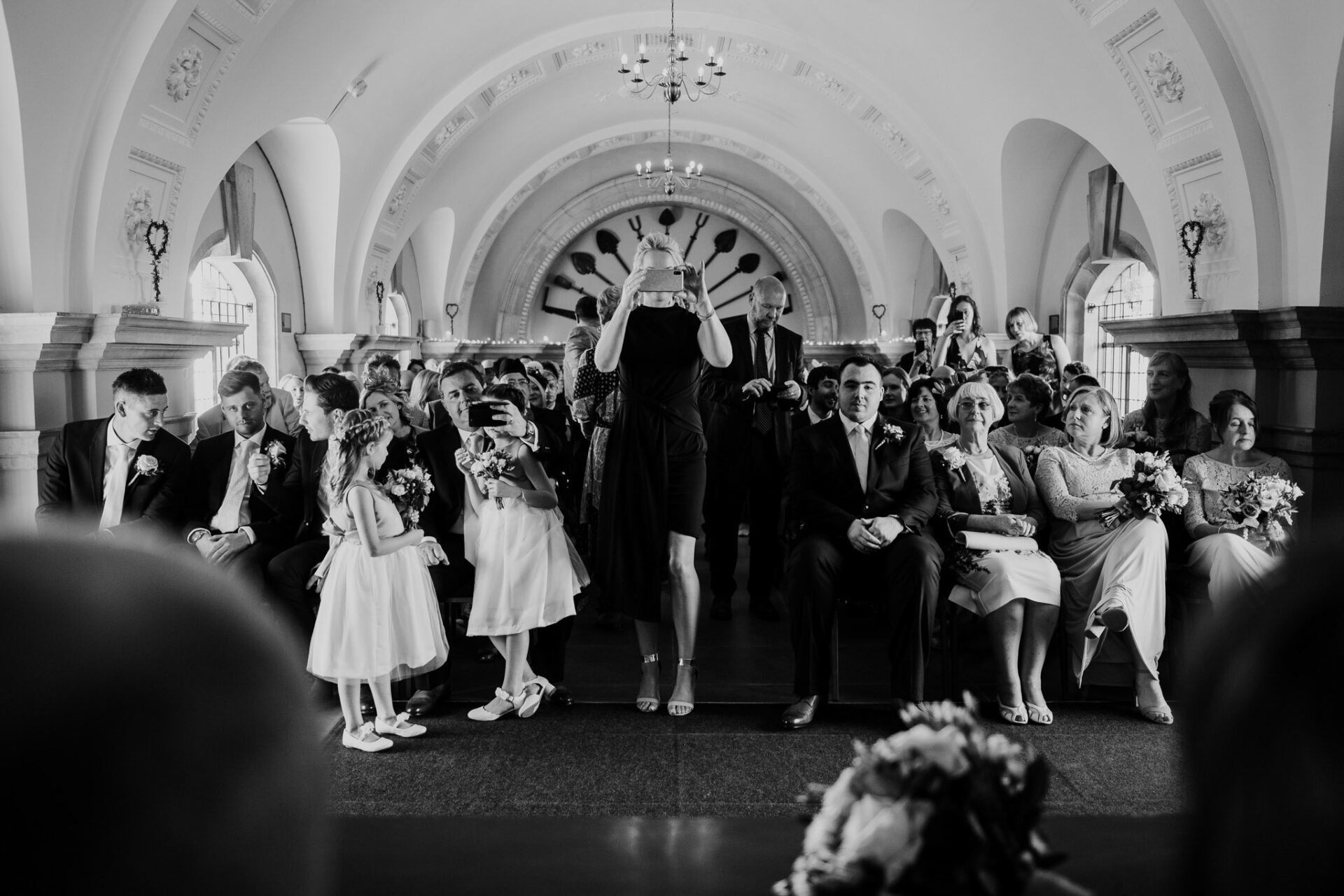wedding ceremony at normanton church