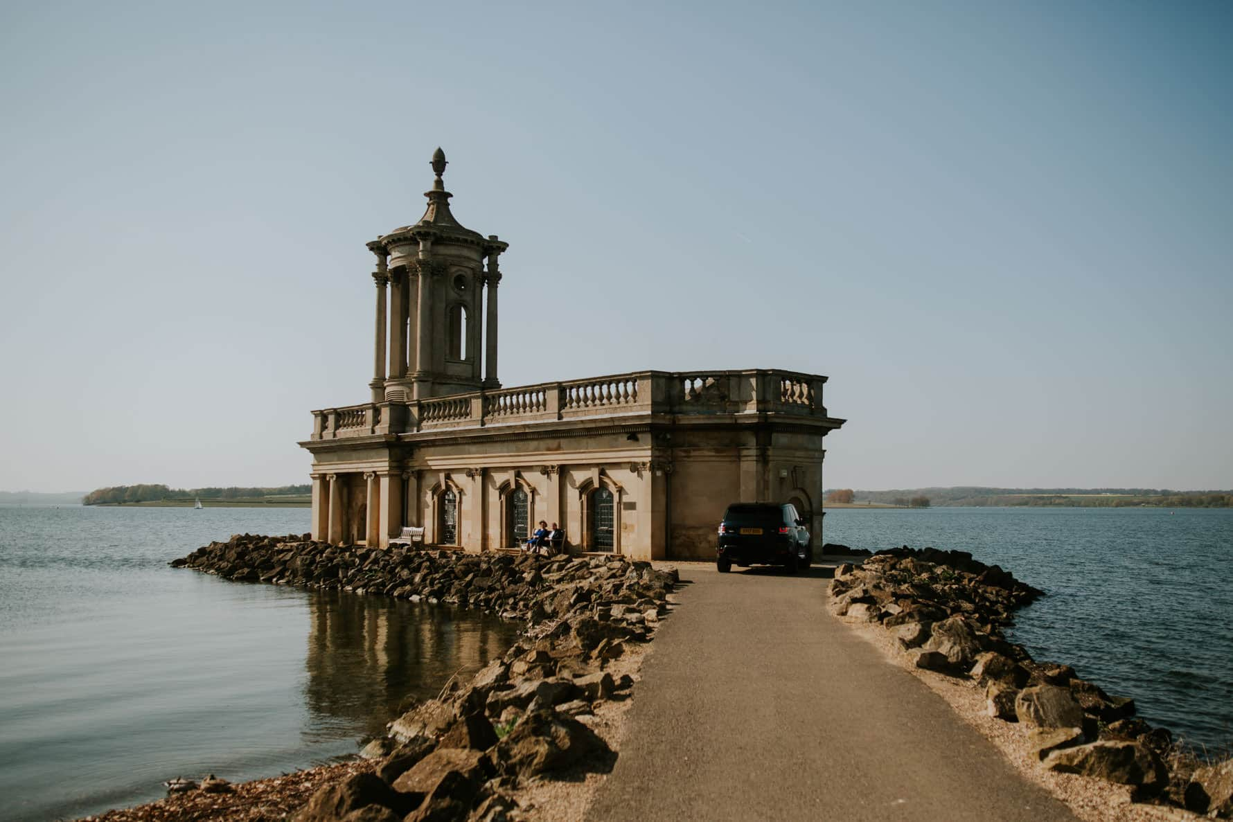 normanton church wedding photography- the church