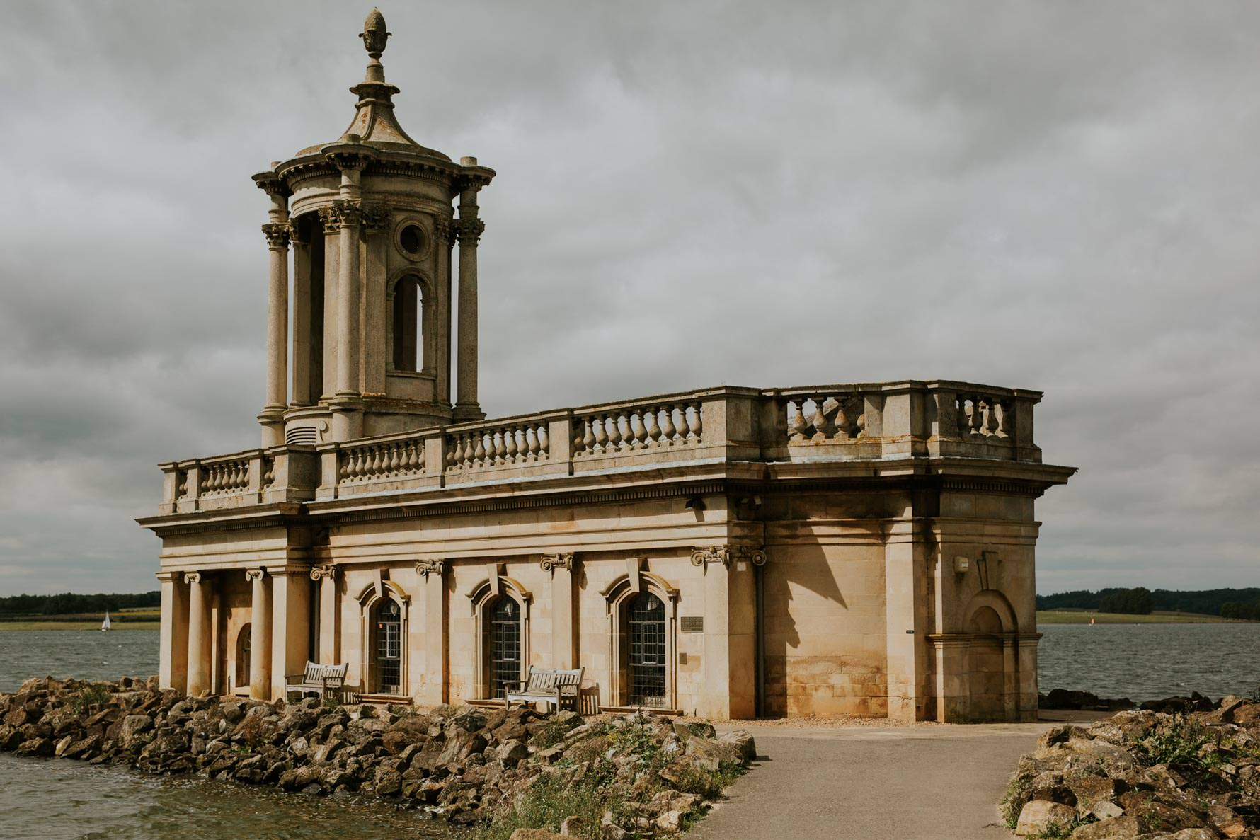 Normanton Church on the day of a wedding