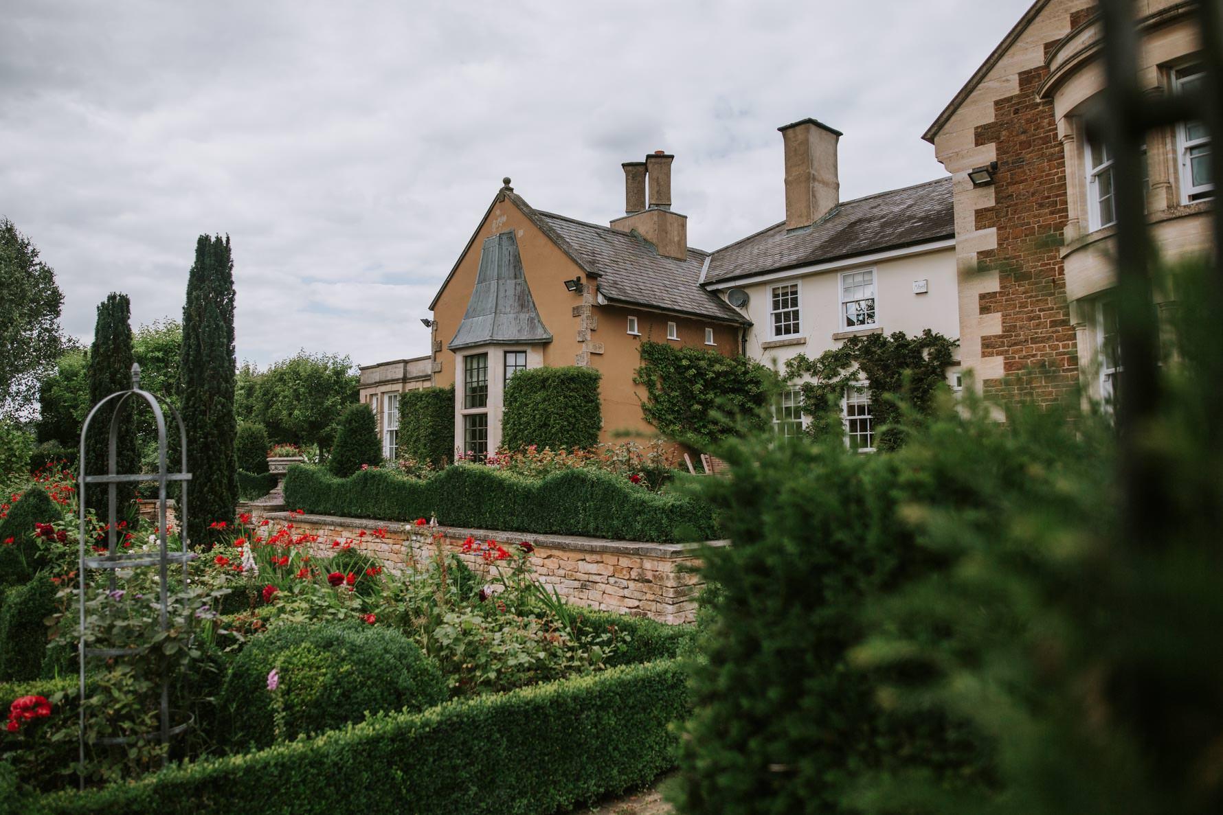 Ladywood estate wedding venue gardens