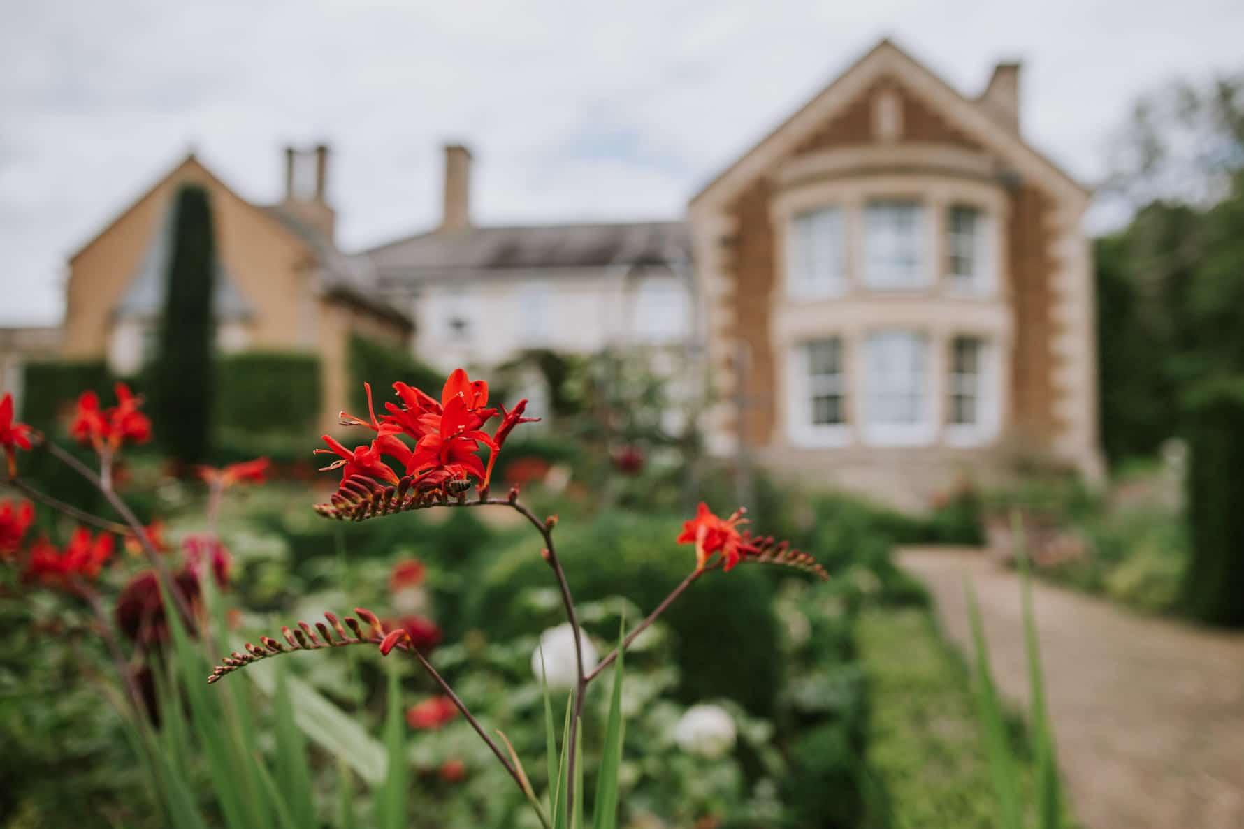 Leading shot of Ladywood Estate wedding venue