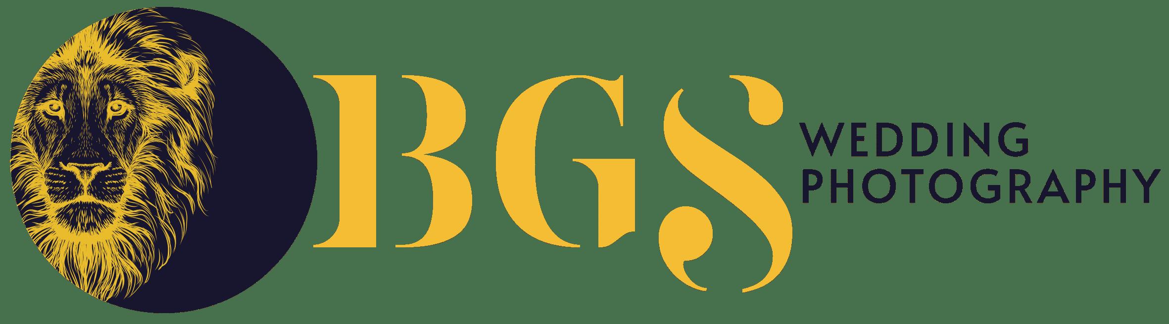 logo which says BGS Weddings